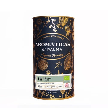 Aromaticas D'Palma Sage Infusion - Organic, Biodynamic and Demeter Certified