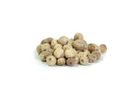 White Malabar peppercorns 50gr. Organic, Biodynamic and Demeter certified.