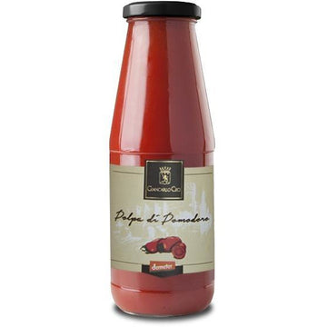 Giancarlo Ceci Tomato Pulp 690g - Organic, Biodynamic and Demeter Certified