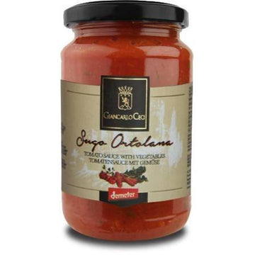 Giancarlo Ceci Tomato Sauce With Vegetables 180g - Organic, Biodynamic and Demeter Certified