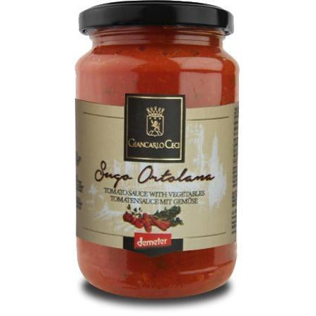 Giancarlo Ceci Tomato Sauce with Vegetables  180g. Organic, Biodynamic and Demeter certified. - thebiodynamic.store