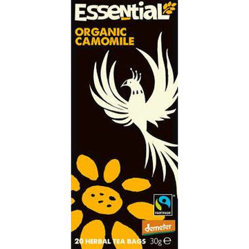 Essential Trading Camomile Tea. Organic, Biodynamic and Demeter certified.