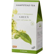 Hampstead Tea Green Tea-Loose Leaf - Organic, Biodynamic and Demeter Certified