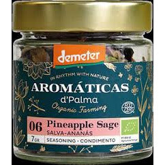 Aromaticas D'Palma Pineapple Sage Seasoning - Organic, Biodynamic and Demeter Certified