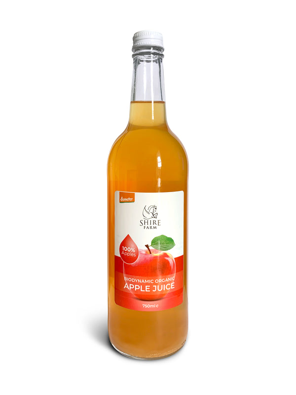 Shire Apple Juice 75cl . Biodynamic and Demeter.