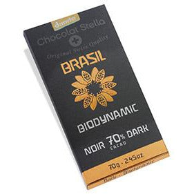 Dark Chocolate 70% Cacao - Organic, Biodynamic and Demeter Certified