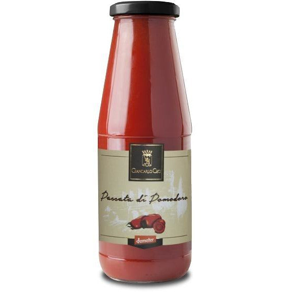 Giancarlo Ceci Tomato Puree (Passata Di Pomodoro) 690g - Organic, Biodynamic and Demeter Certified brought to you by TheBiodynamic.store