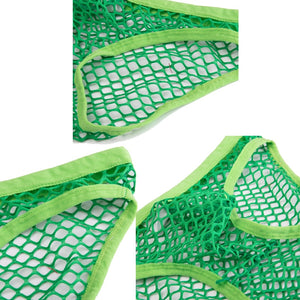 Sexy Mens Gay Briefs Breathable Fishnet