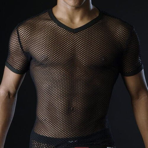 The Visulizer - Mens See Through Top