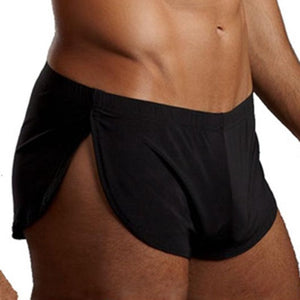 The Robins - Men's Pajamas Boxer Shorts - Side Split Gay Underwear