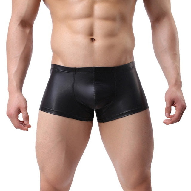 The Ronaldo - Leather Underwear for Gay Men