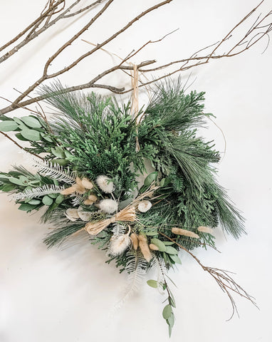 Classes: Holiday Wreath Making 12/05/19