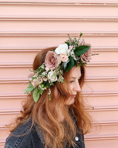 Classes: Flower Crown Making 09/24/19