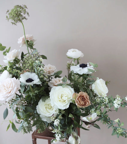 Class: Low Dish Flower Arranging Class (Advanced) 05/23/18