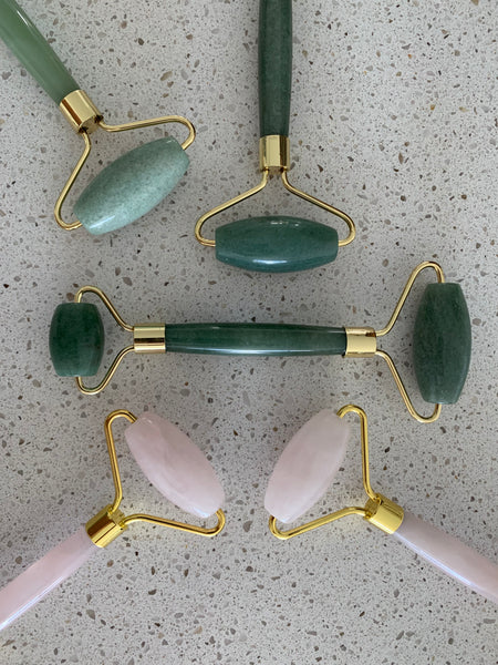 Face Roller - Jade or Rose Quartz?