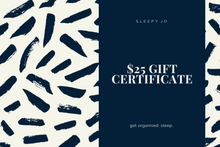 Load image into Gallery viewer, Sleepy Jo Australia $25 Gift Certificate, Gift Card
