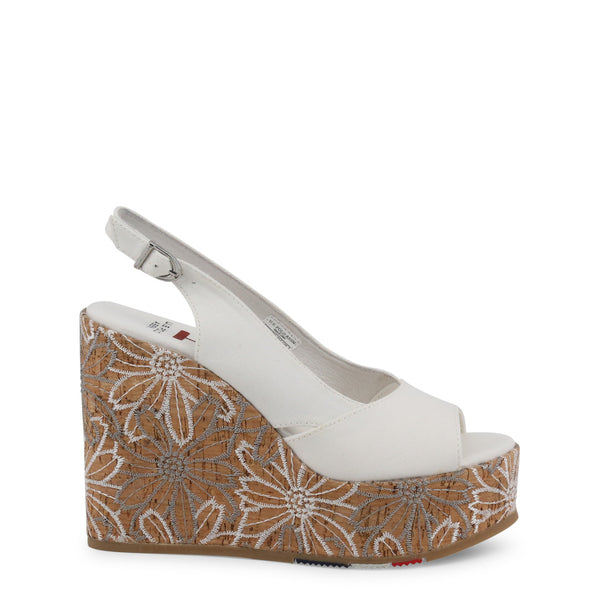 U.S. Polo Assn. Gold Women Wedges