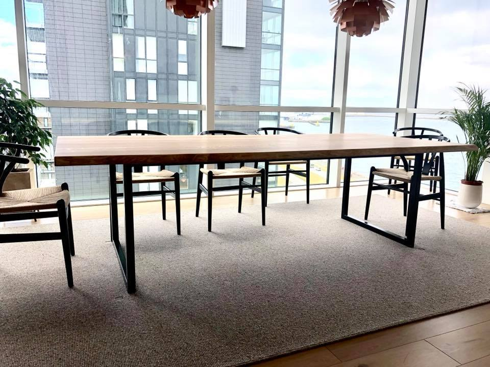 Dining table I - steel frame