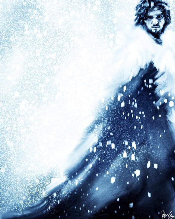 The White Wolf: Jon Snow