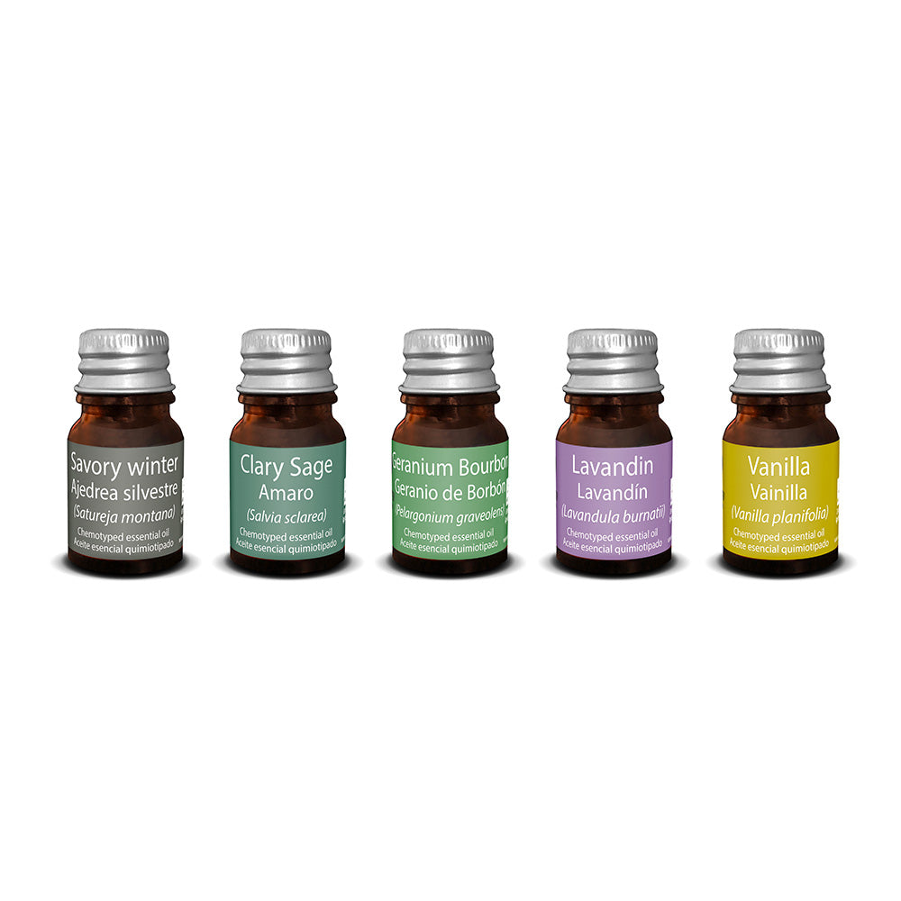 Touch of Synergy SCollection 12: Flowering Tops 5 x 3ml