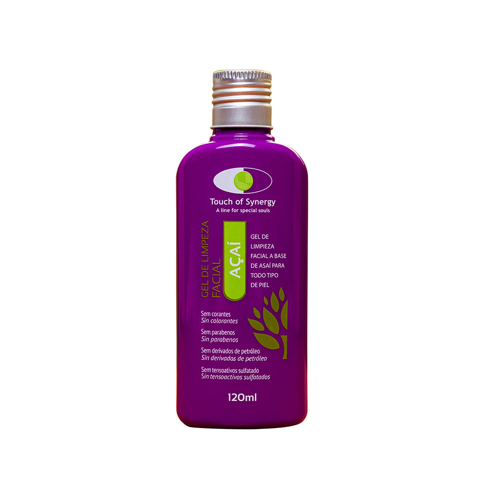 Touch of Synergy Acai Facial Cleansing Gel  - 120ml