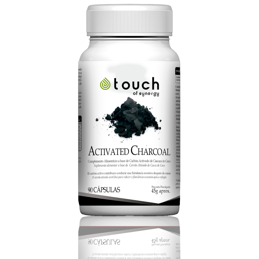 Activated Charcoal - 90 cápsulas