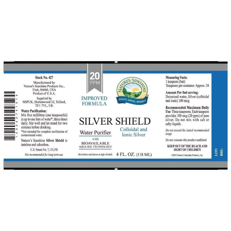 Silver Shield Liquid - Natures Sunshine