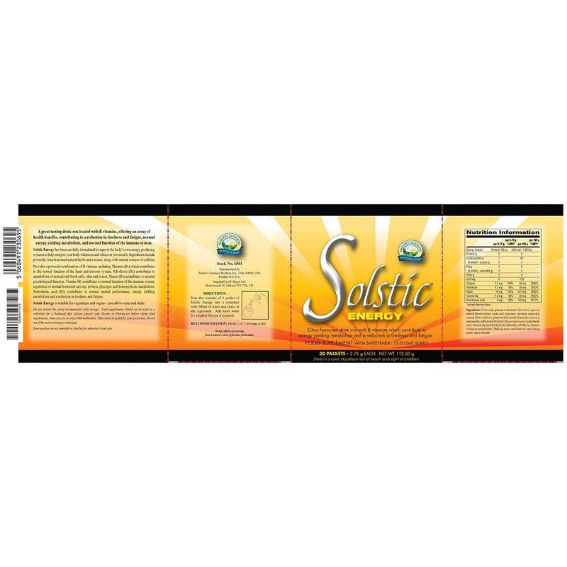 Solstic® Energy - Natures Sunshine