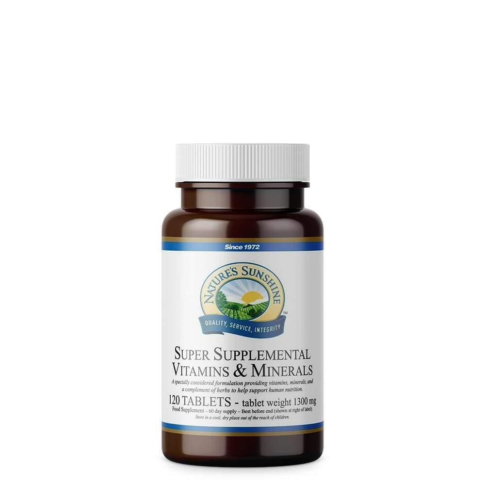 Super Supplemental Vitamins and Minerals - Natures Sunshine