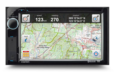 Clarion NX387AU Double Din - Street & Off-road - P9000-0032T