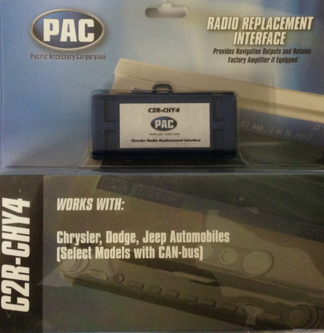 Touring 7574 Jeep CANBUS Adaptor - P7500-PACC2RCHY4