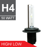 H4 H/L 50W (6000k) Performance HID Complete Kit - P6650-0004