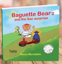 Load image into Gallery viewer, BAGUETTE BEARS AWARD WINNING BOOKS