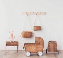 Load image into Gallery viewer, Devoirs - Hand woven child's, rattan desk