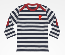 Load image into Gallery viewer, Childs French striped bretagne t-shirt