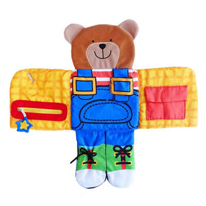 Dress up Bear educational toy