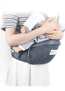 Ergonomic, Adjustable,  Baby Carrier Hipseat