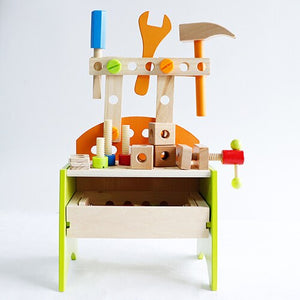 The carpenter - an educational and fun, wooden toy
