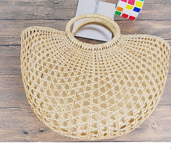 VIntage style Rattan Chic, ladies bag