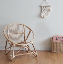 Load image into Gallery viewer, Child's Rattan chair - Chez moi