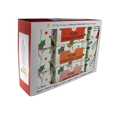 JR 3 Bird Roast Christmas Crackers