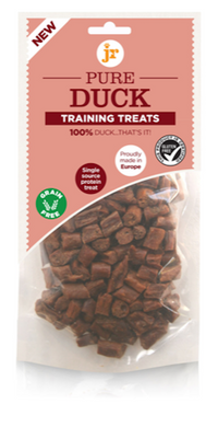 JR 100% Pure Training Treats Duck 85g