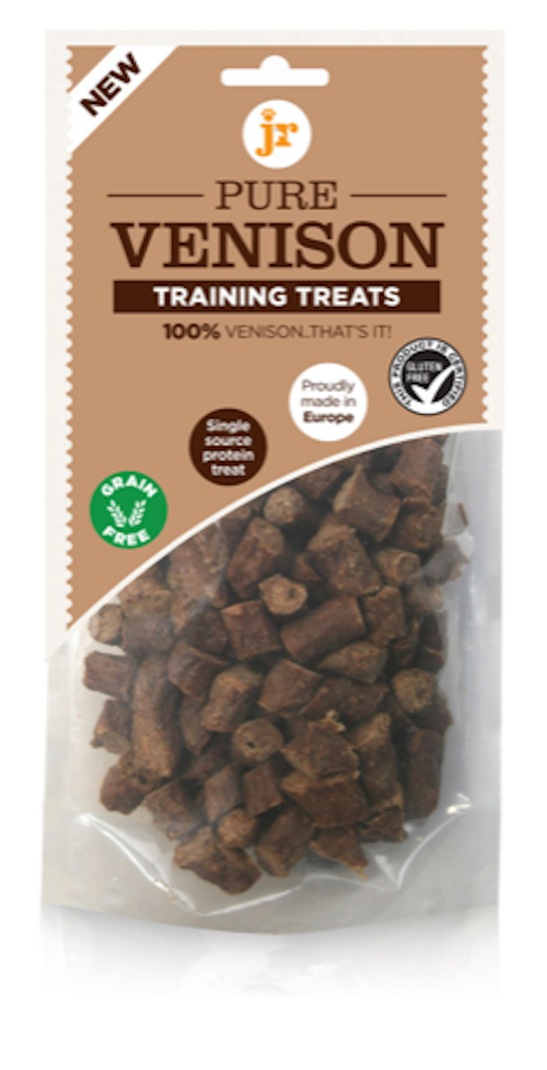 JR 100% Pure Training Treats Venison 85g