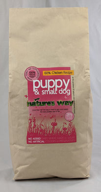 Natures Way Puppy & Small Dog 60% Chicken Recipe