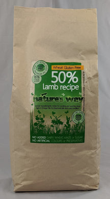 Natures Way Adult Lamb And Brown Rice