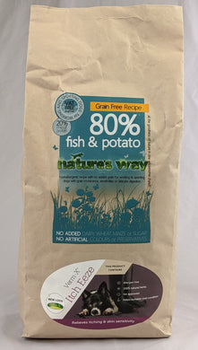 Natures Way Adult Grain Free Fish & Potato