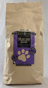 Natures Way Grain Free Mature 60% Chicken Recipe