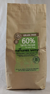 Natures Way Grain Free Adult Lamb Recipe