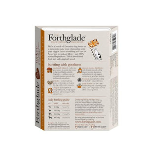 Forthglade Complete Meal Grain Free Turkey with sweet potato & vegetables natural wet dog food (18x395g)