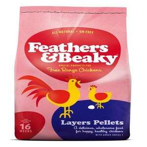 Feathers & Beaky Layers Pellets